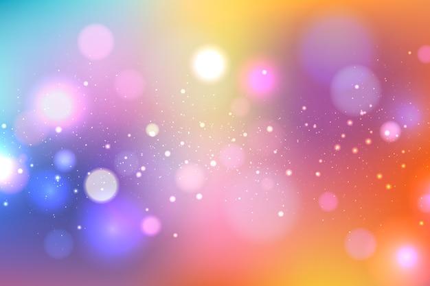 Bokeh design bright background Free Vector