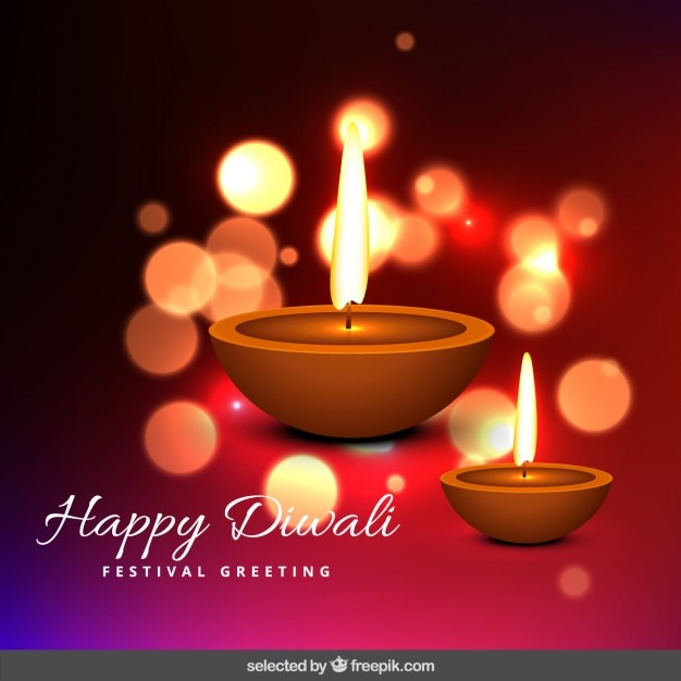 Bokeh diwali greeting vector free download bokeh diwali greeting free vector m4hsunfo