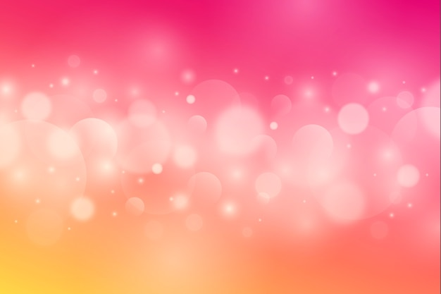Bokeh effect background Premium Vector