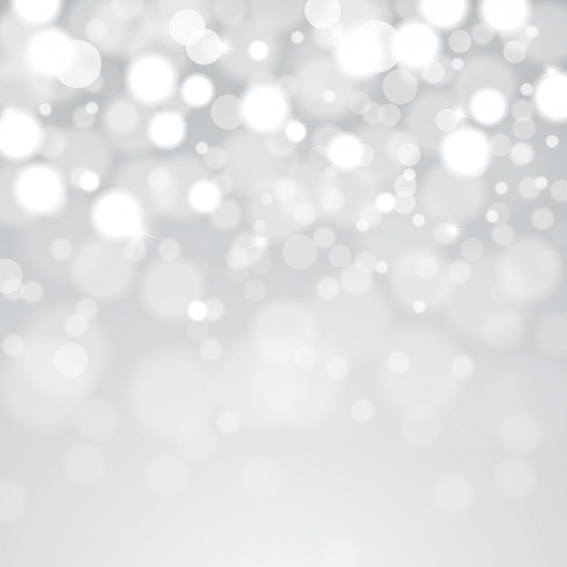 Bokeh grey background Free Vector