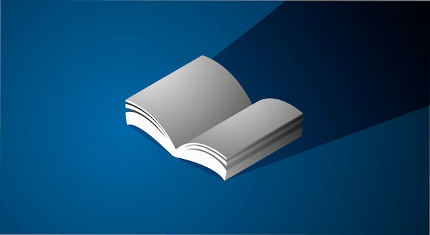 Book Icon Graphic Page Education Concept