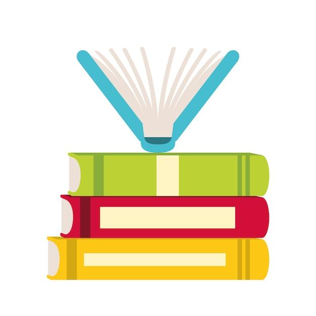 Book icon image Premium Vector
