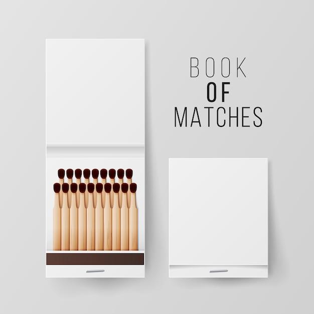 Book of matches Premium Vector