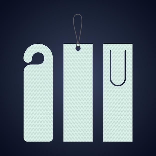 Bookmark label tag icon. guidebook decoration reading and literature  theme. colorful design. vector Premium Vector