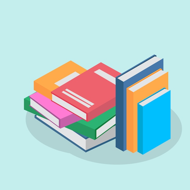 Books background design Vector | Free Download