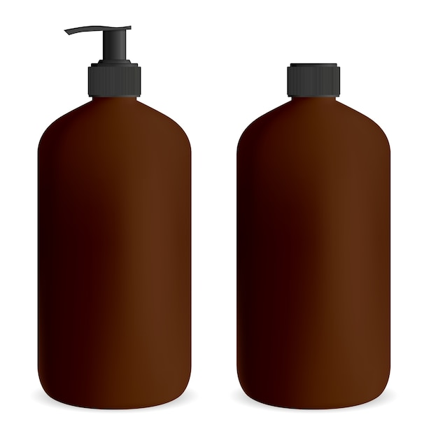 ジェルや石鹸用のボトルポンプ。 Premiumベクター