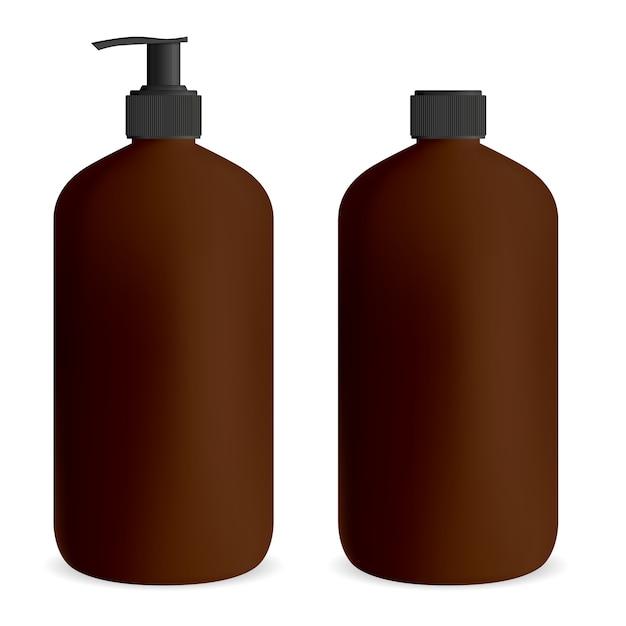 Bottle pump for gel or soap. Premium Vector