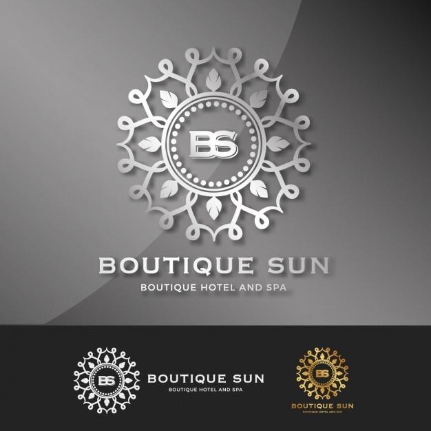 Boutique Logo Template Collection Vector