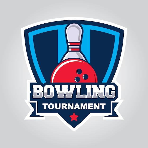 bowling design template vector premium download