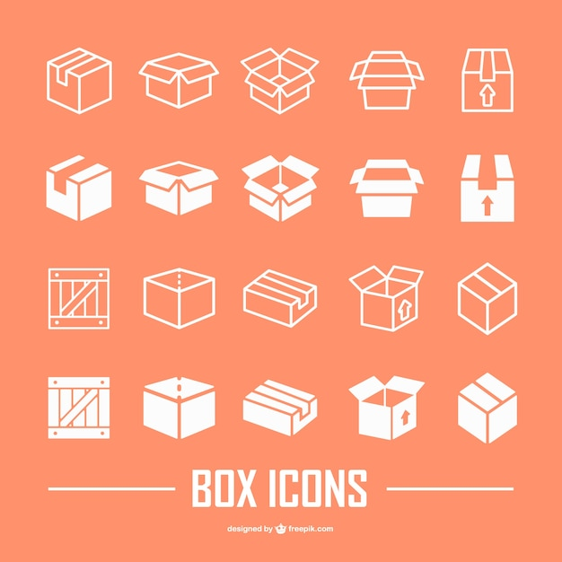 box vector icon 2
