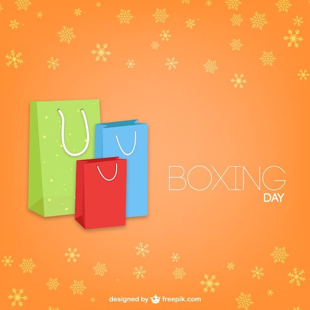 Boxing day at Christmas