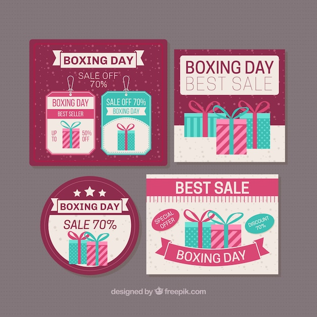 Boxing day discount collection