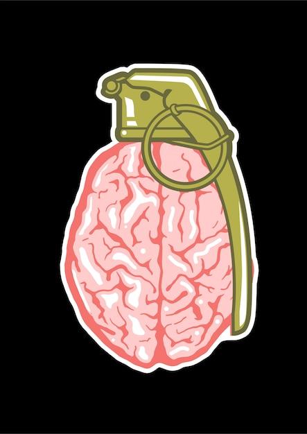 脳爆撃機 Premiumベクター