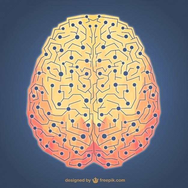 Brainstorming illustration Free Vector