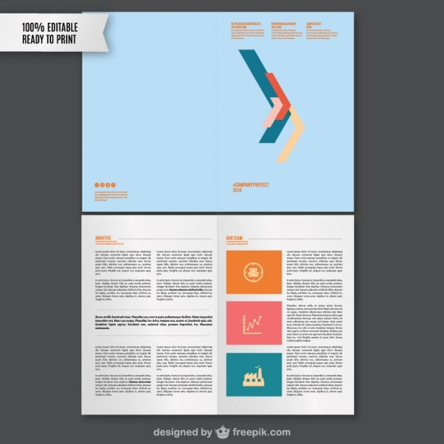 Branding guidelines template Vector | Free Download