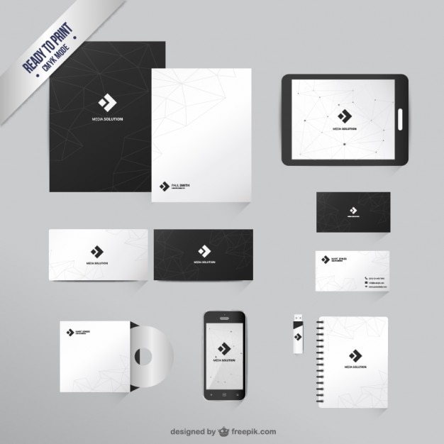 branding mockup vectors, photos and psd files | free download, Presentation templates