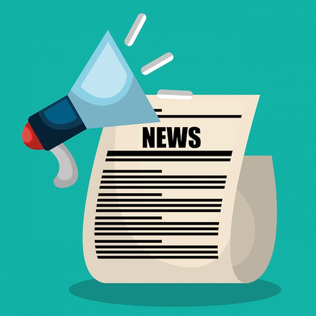 Breaking news design Premium Vector