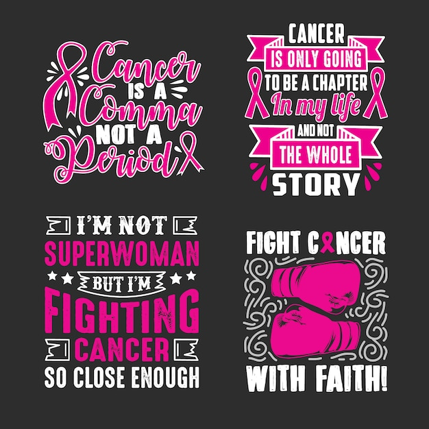 Breast Cancer Quotes Saying Vector Premium Download Classy Breast Cancer Quotes