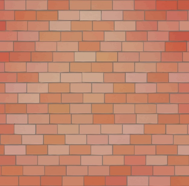 Brick Wall Abstract Background Free Vector