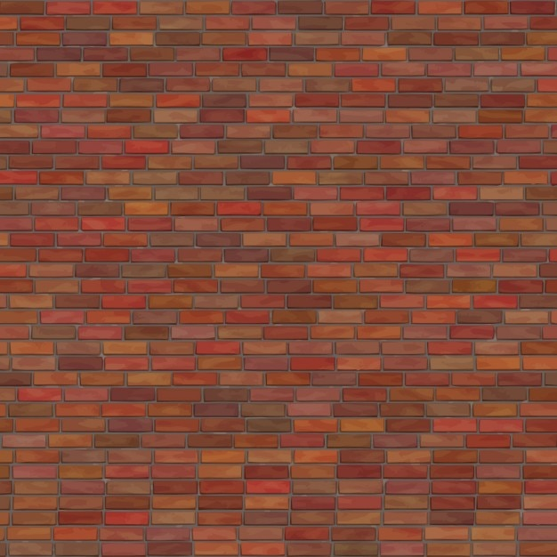 Bricks Wall Texture Free Vector