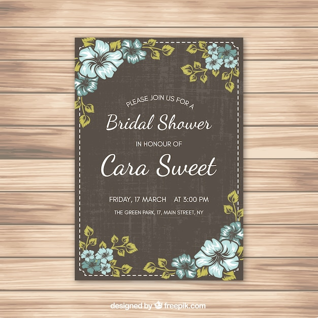 postcards design free shower invitations bridal postcard designs card templates cheap invitation