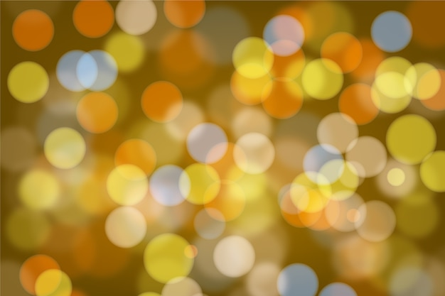 Bright bokeh lights background Free Vector