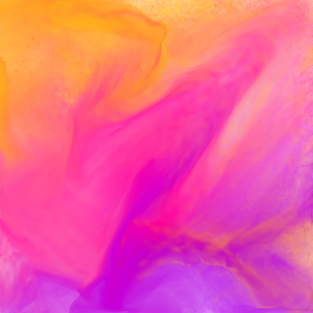 Bright colorful abstract pink watercolor texture background Free Vector
