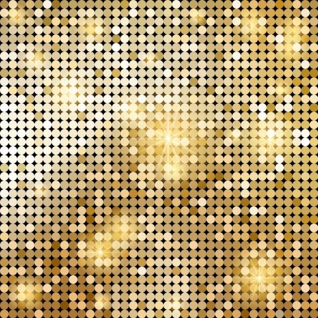Bright golden background Free Vector
