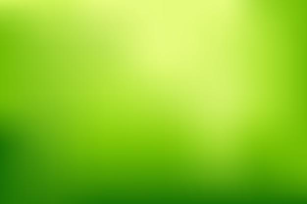 녹색 색조의 밝은 그라데이션 배경 프리미엄 벡터
