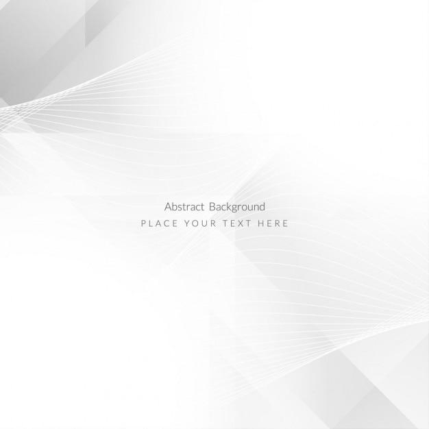 Brillante colore grigio forma poligonale di sfondo Vettore gratuito