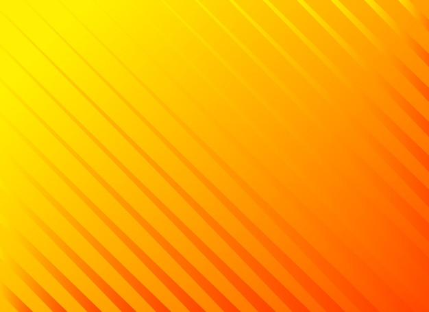 Bright orange diagonal lines background Free Vector