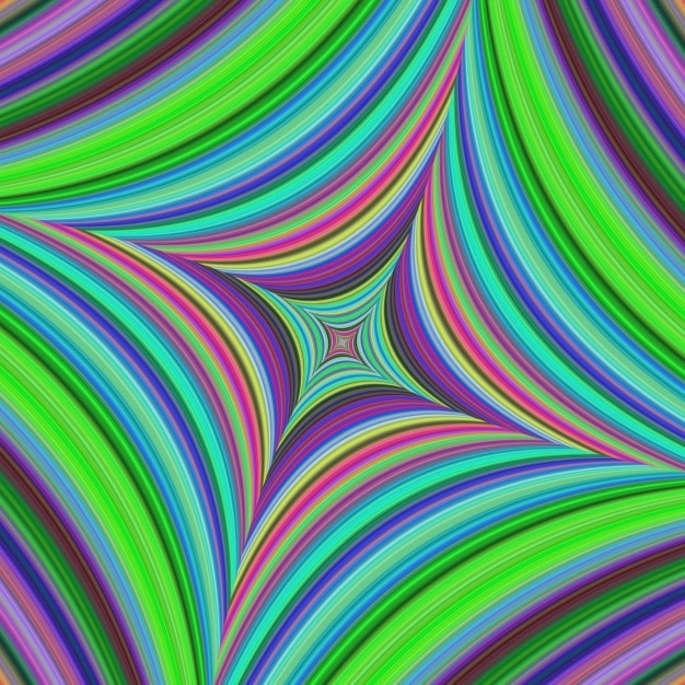 Bright psychedelic background Free Vector