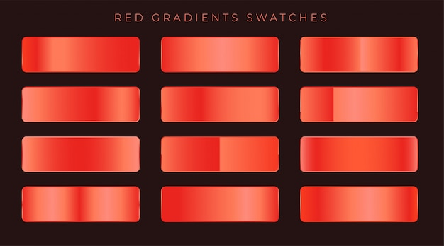 Free Vector Bright Red Shiny Gradients Background