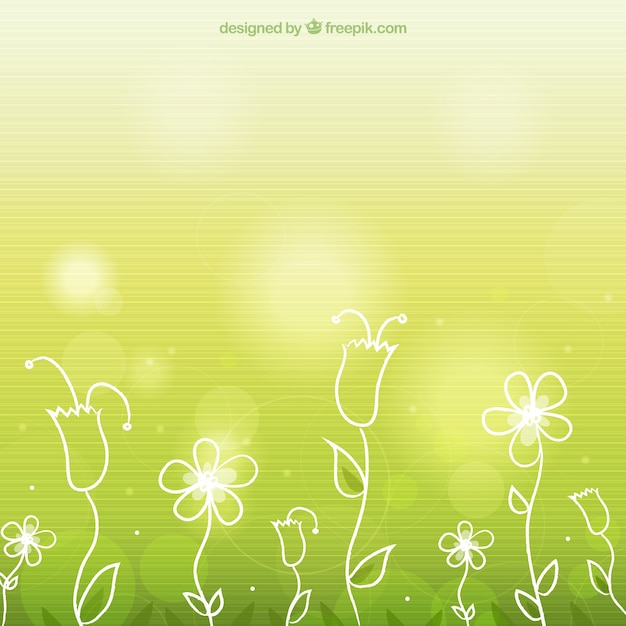 Bright spring flowers background with stripes vector free download bright spring flowers background with stripes free vector mightylinksfo
