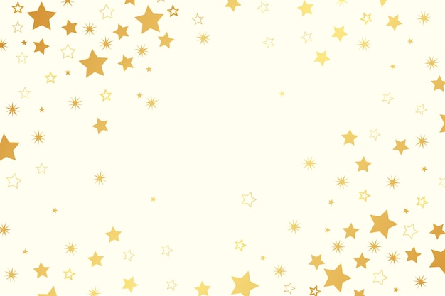 Bright stars flat background Free Vector