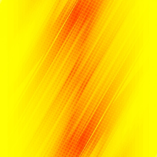 Bright yellow modern background