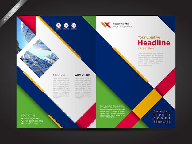 Brochure Design Template Company Profile Design Vector