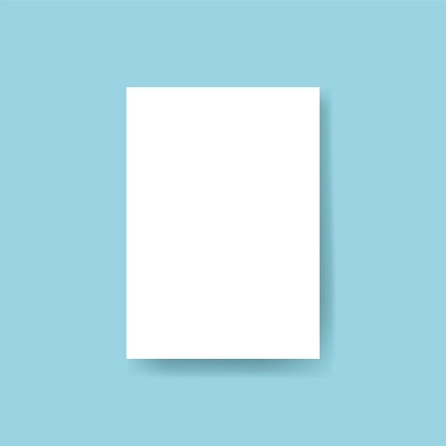 Brochure design template mockup vector Free Vector