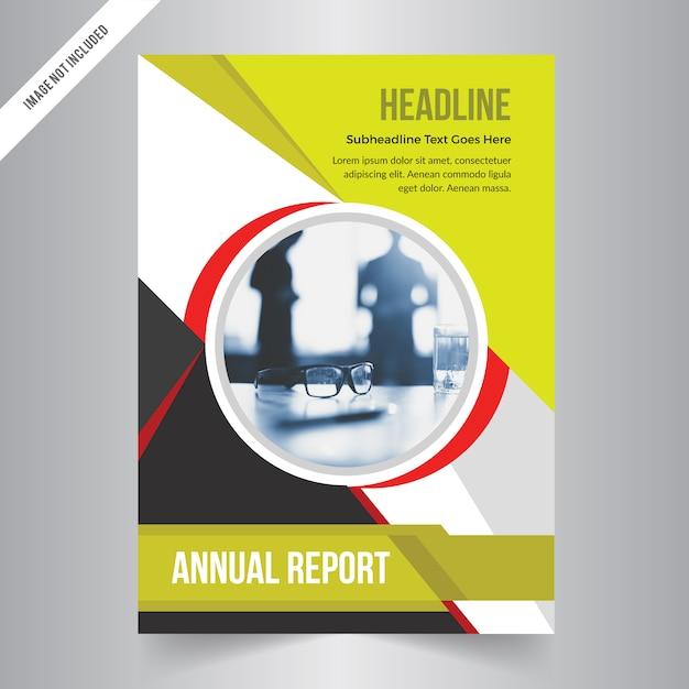 brochure design template vector. green abstract square cover book, Presentation templates