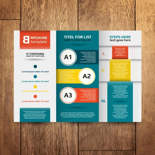 Brochure Design Template Vector Free Download - Brochures design templates