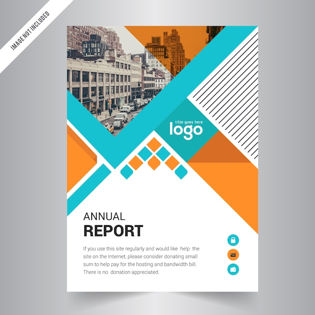 brochure flyer design layout template front page and back page