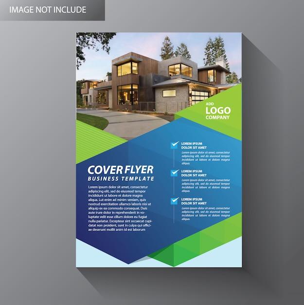 Brochure layout annual report poster flyer Premium Vector