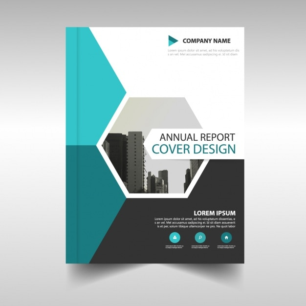 Brochure template design vector free download for Book cover page design templates free download