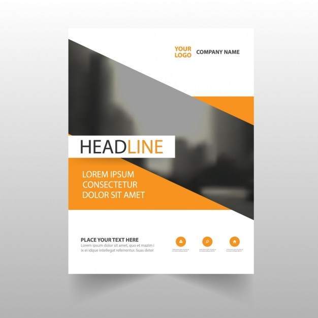 Brochure template design vector free download for Free templates for catalogue design