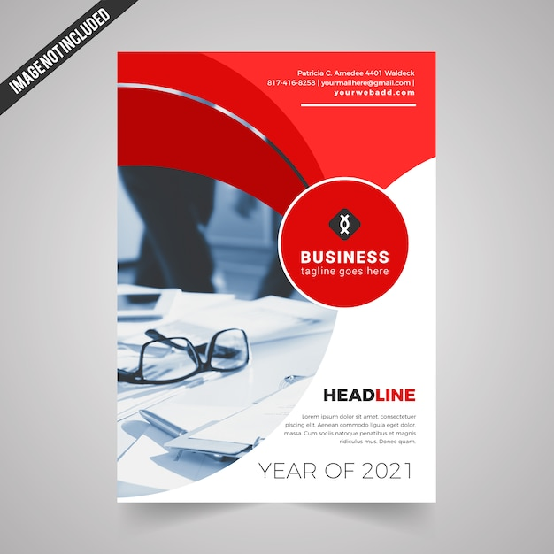 Promotional flyer vectors photos and psd files free download brochure template design pronofoot35fo Gallery