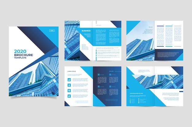 Макет шаблона брошюры Premium векторы