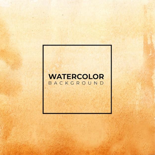 Коричневый абстрактный фон акварелью, рука краска. цветные брызги на бумаге Premium векторы
