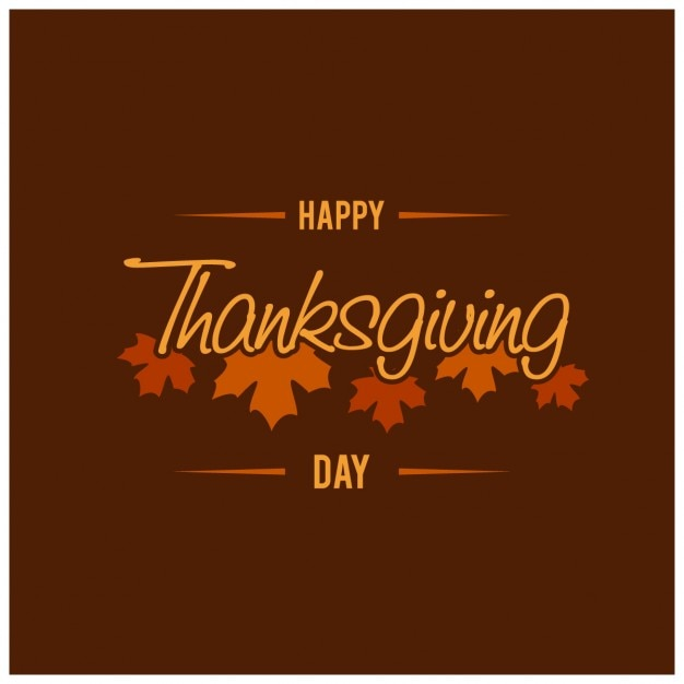 Brown background with leaves for thanksgiving\ day
