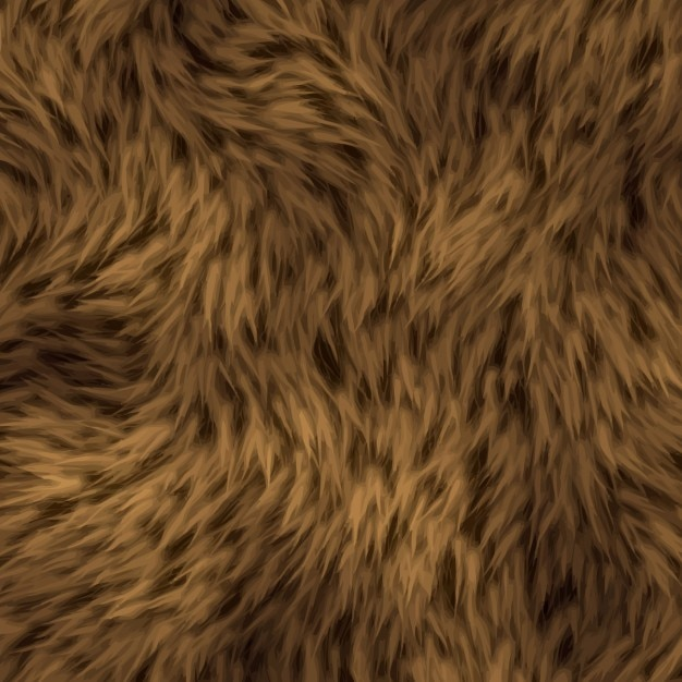 Brown Beard Hair Texture Vector Free Download