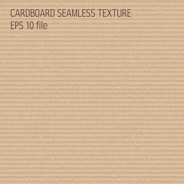 Brown carton texture Premium Vector